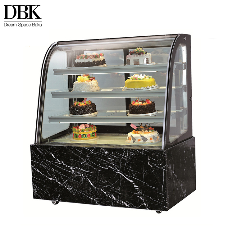 Convenience store modern commercial table refrigerators for cakes