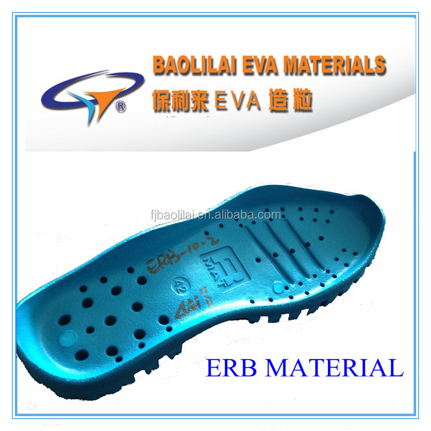 Newly developed ERB material,mixer of eva with rubber for making shoe soles
