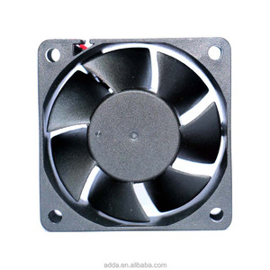 ADDA 12 volt brushless 60x60x25 dc cooling fan axial dc brushless cooling fan dvd player fan 6v dc