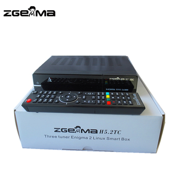Zgemma H5 2tc Satellite Receiver Dvb-s2+ 2x Dvb-t2/c Three Tuner Combo Iptv  Best Sat Tv Box - Buy Best Iptv,Zgemma H5 2tc,Live On Sat Product on