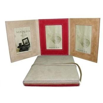 Trifold Pu Leather Foldable Photo Album Buy Trifold Photo Album