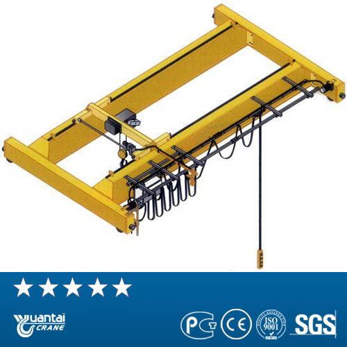 Beste China Crane Fabrikant Staal Coil Lifting Dubbele Ligger Overhead Kraan machine uit Henan