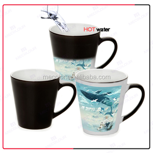 Mecolour 12oz cone magic mug for customization