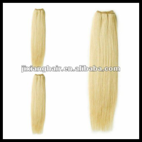 613 24 Inch Blonde Remy Human Hair Sew In Hair Weave