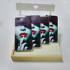 Universal plastic Red lip Graffiti Phone case for Samsung A5 clear phone case transparent phone cover