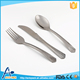 Fashional design tableware sets disposable plastic silver cutlery