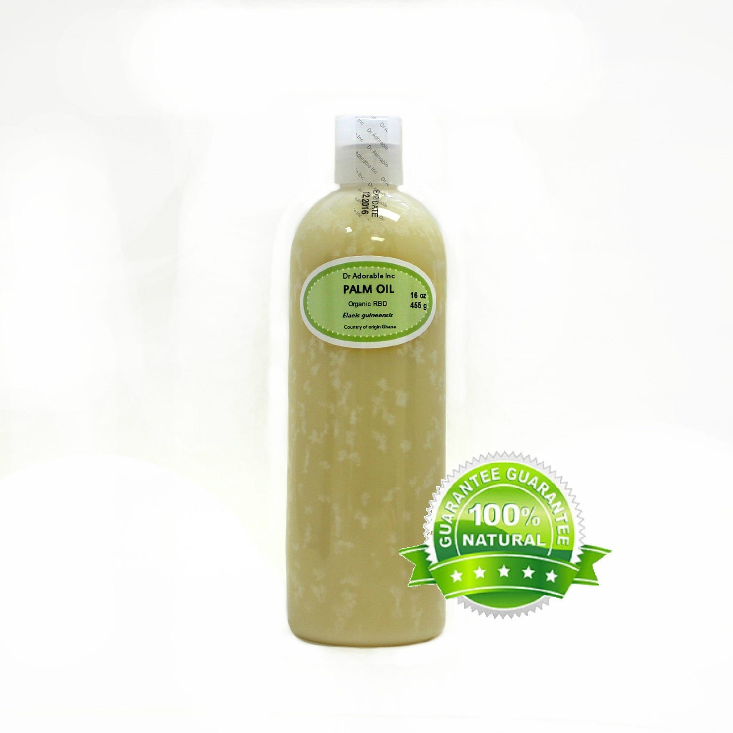16 Oz Premium Palm Oil Pure Cold Pressed Organic