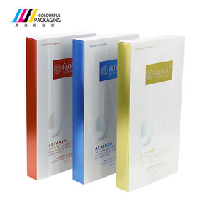 Luxury Custom Design Printed Recycled Cheap Carton 300 Gsm Paper Box Packaging