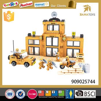 Wholesale 367 PCS military vehicles toy kids interlocking building ...
