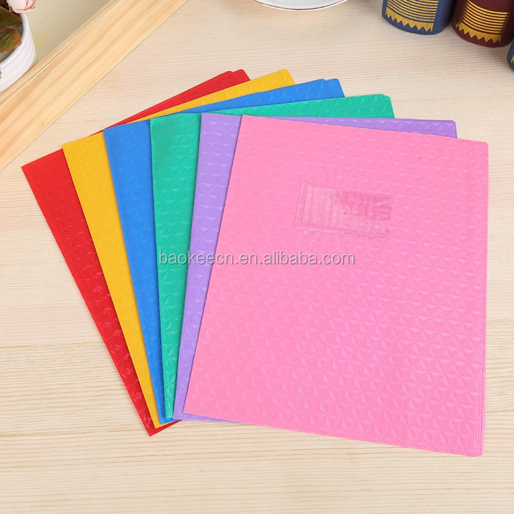 New high quality hard waterproof plastic book cover