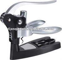 High quality deluxe Zinc alloy rabbit/lever-style corkscrew,wine opener