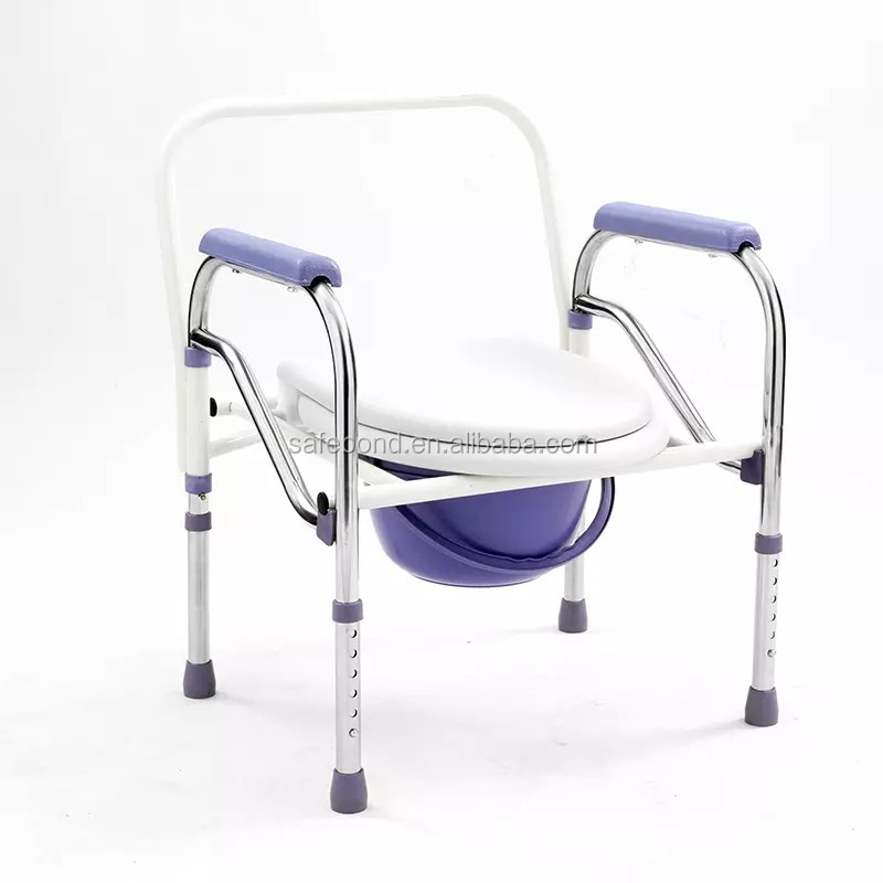 Commode Chair Parts With Bedpan For Disabled People