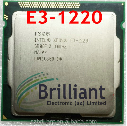 CPU 639701-B21 E3-1220 3.10GHz 4-core ML110 G7 32nm 80W Socket LGA-1155 PROCESSOR 1 year warranty