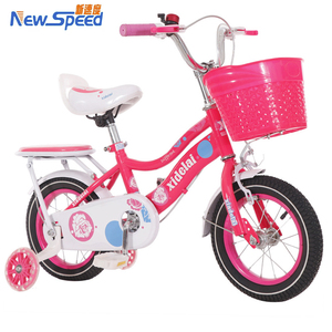 lovely 12 inch girls children bike / Pink princess children bicycles / single speed kids bike