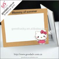 Promotional paper board photo frame / paper photo frame / stand picture frame
