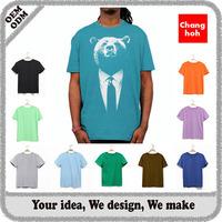 Professional factory custom short-sleeve t shirt supplier malaysia