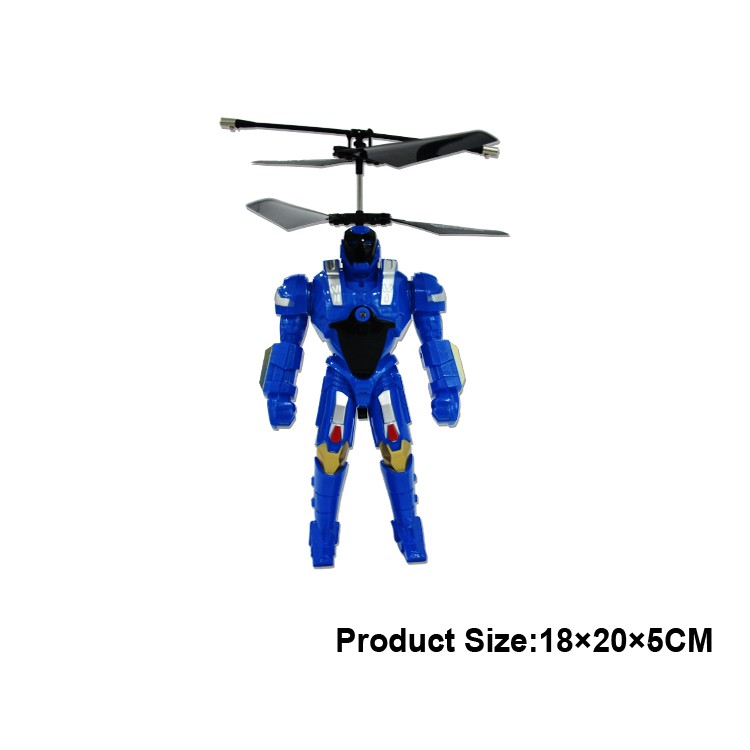 2.5CH 360 degree battle toy flying rc robot