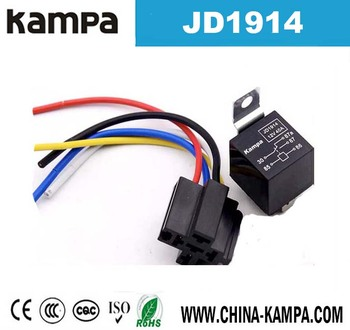 Jd1914 40a 12v 5 Pin Automotive Auto Electrical Relay - Buy 5 Pin Relay on