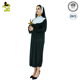 Nun Classic Costume Woman's Pilgrim Lingerie Cosplay Fancy Dress Outfit