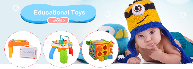Funny Kids Playing Learning Table Educational Baby Toy With Music