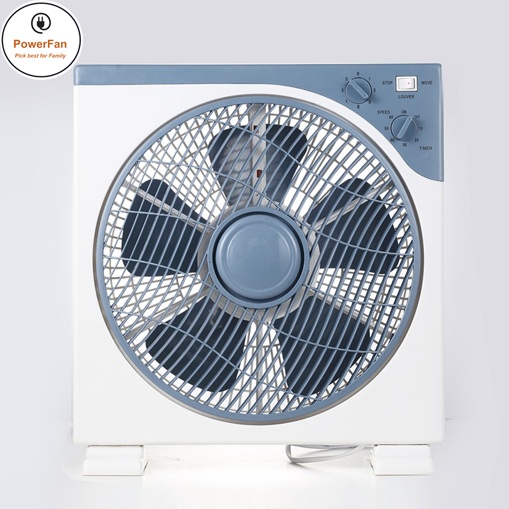 China 50Hz Eletrical Cooling Fans 220V 12Inch Metal Table Box Fan