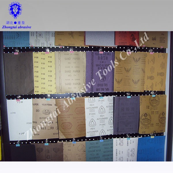 Sanding Paper Type Abrasive Paper Manufacturer