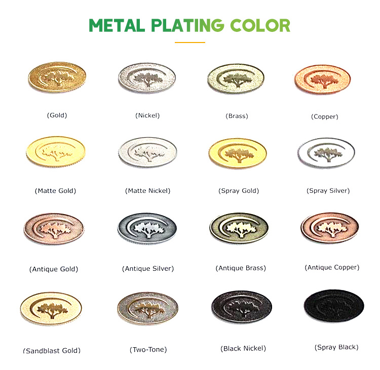 Bag Accessories Labels Custom Brand Name Logo Epoxy Metal Plates for Bags