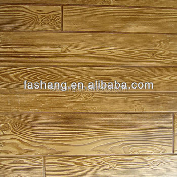 Interior Decorative Wood Grain Wall Paneling.Faux Textured Embossing MDF