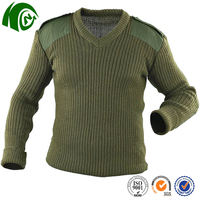K-ANGO Sedex Approved Sunshine Proof military high neck man sweater