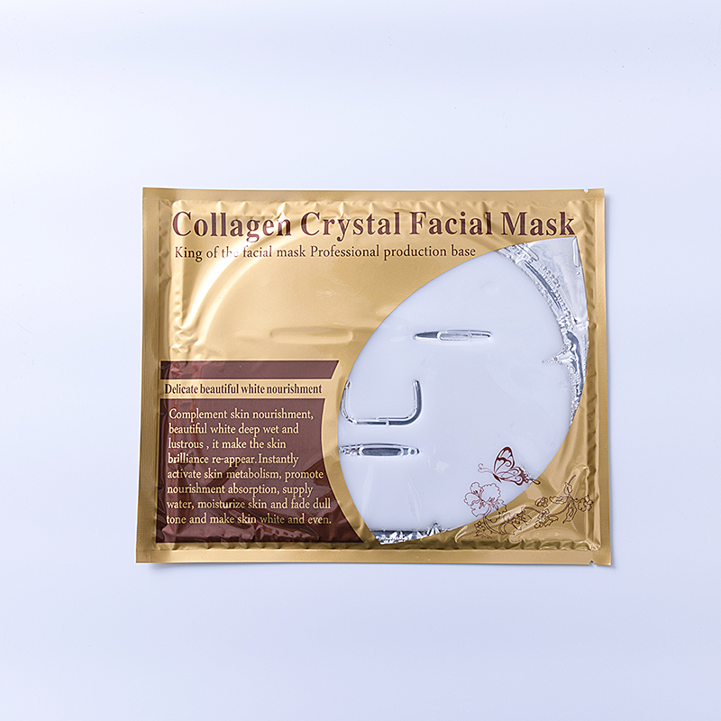 24 k or poudre bio collagène cristal masque facial collagène masque facial en or