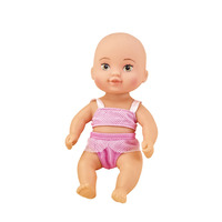 high quality bath time play alive skin inflatable bikini soft baby doll for kids