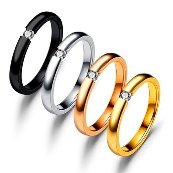 Wholesale 1 Carat Solitaire Single Diamond Engagement And Wedding