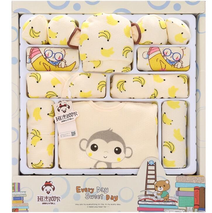 Queena 100% cotton newborn <strong>gift</strong> box (18pcs/<strong>sets</strong>) <strong>baby</strong> clothes Spring and Summer warm <strong>set</strong> newborn <strong>baby</strong> <strong>set</strong> for 0- 3 month <strong>baby</strong>
