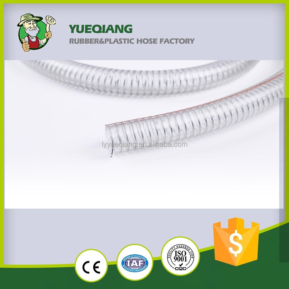 Pvc Flexible Spiral Steel Wire Reinforced Hose, Pvc Flexible ...