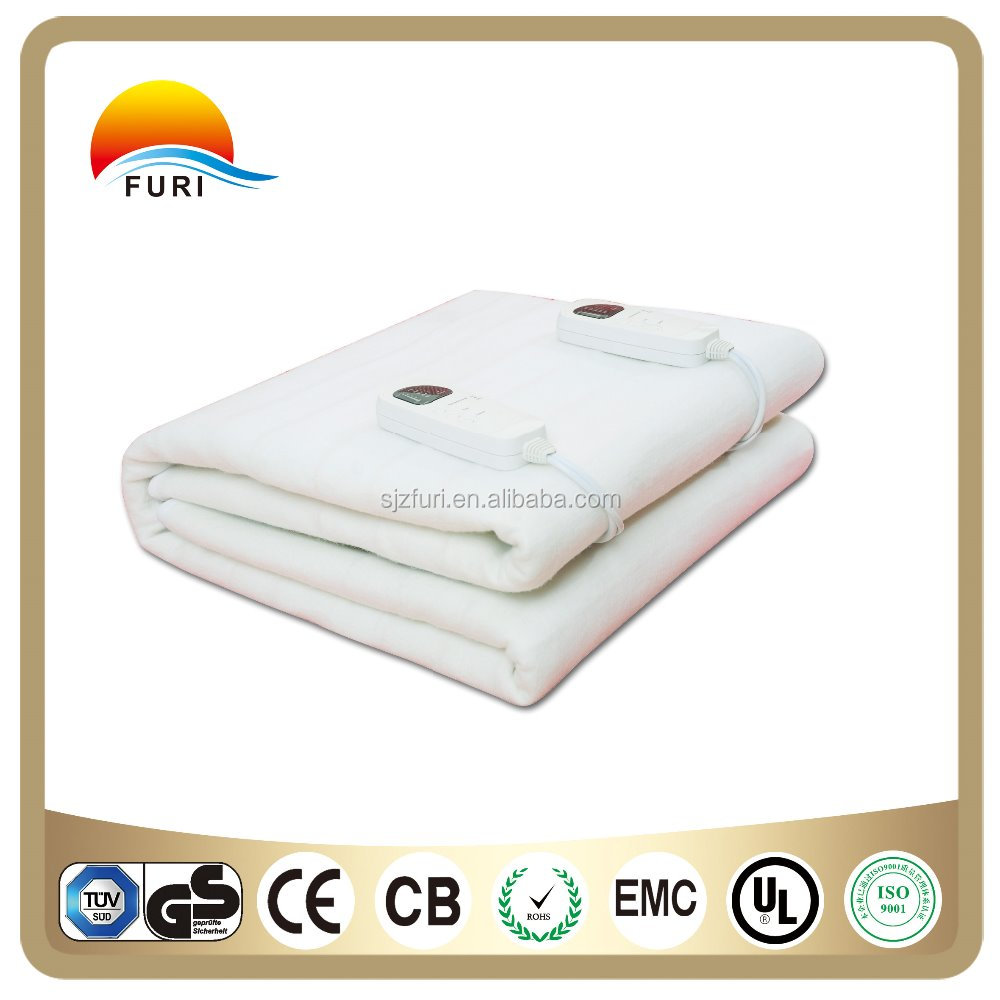 China supply electric blanket queen size