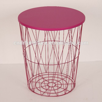 2019 Modern Metal Wire End Table For Living Room