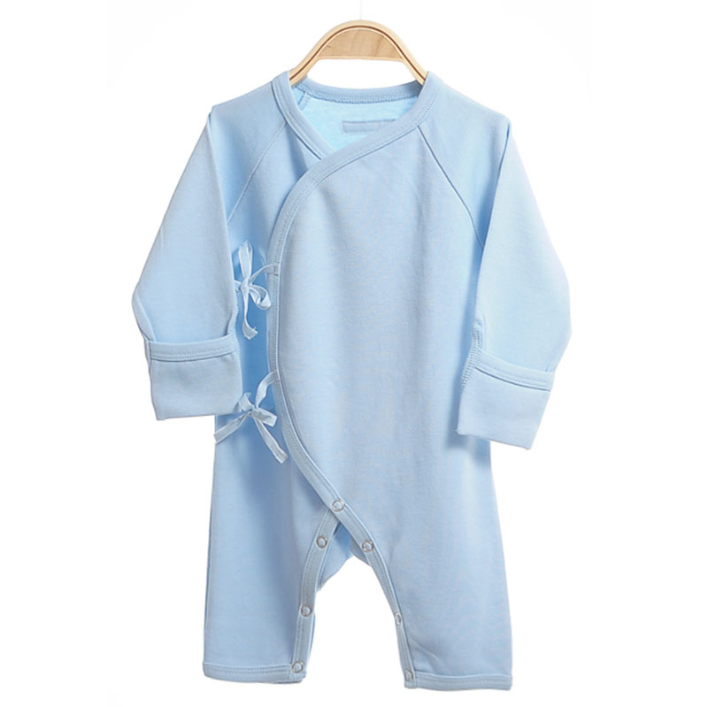 Soft infant outfit  Long Sleeve 100%Organic Cotton Romper Newborn Baby Clothes