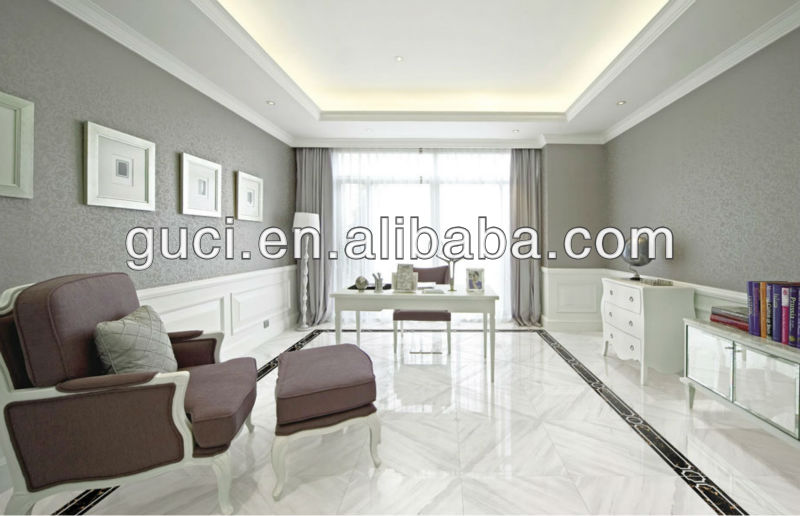fully glazed white polished tiles