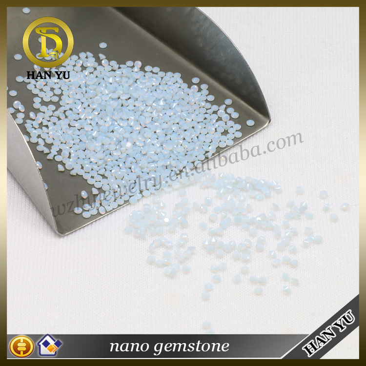 Loose decorative 150/1# pear cut 5*7mm synthetic nano crystal