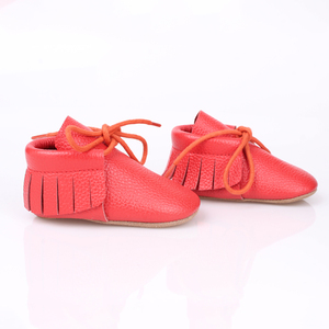 Lovely soft baby moccasins import baby shoes china
