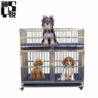 High standard best price strong large acrylic cat cage dog cages
