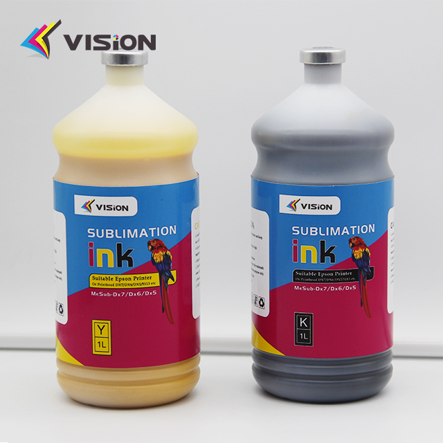 Vision Best Sale! Sublimation ink / 6 colors 1000ml dye sublimation ink for t-shirt