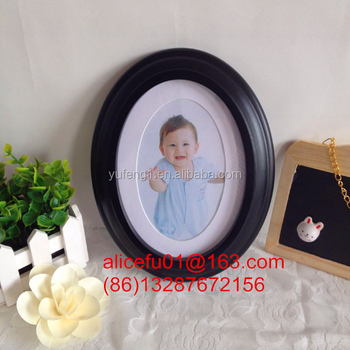 5x7 Wholesale Black Oval Photo Frame,Wooden Baby Picture Frame 5x7 ...