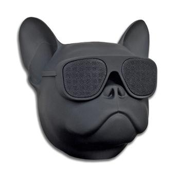 Portable Bulldog Head Shaped Cool Looking Speaker