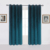 new design luxury classical double sided bedroom curtains