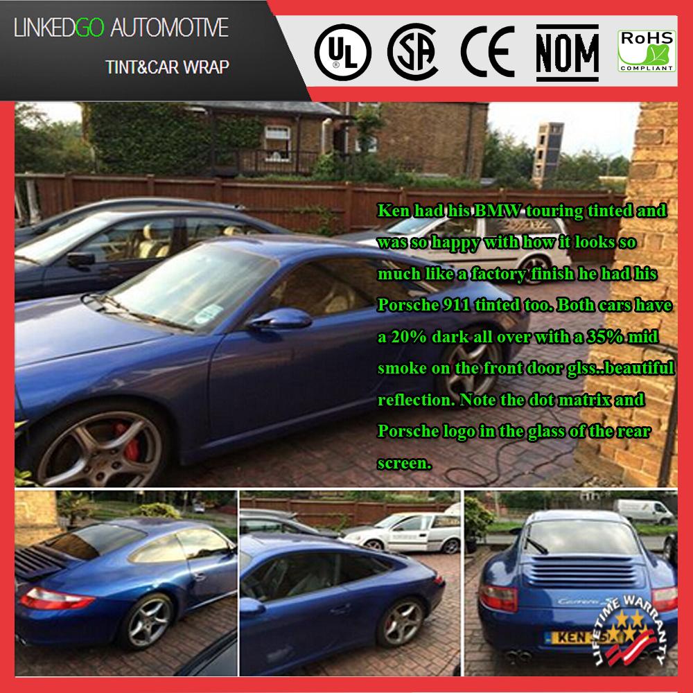 Car colour heat - 60inch 100feet Good Heat Resistant Tinting 2ply Llumar Car Window Film