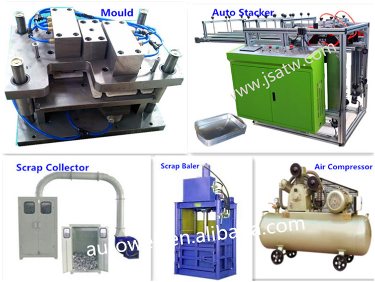 Electric And Pneumatic Driven Type And Wooden Box Packaging Type Auto Aluminum Foil Tart Press Making Machine Buy Electric And Pneumatic Driven Type