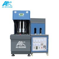 Semi Automatic PET Blow Molding Machine/Plastic Bottle Making Plant Price/Extrusion Blowing Molding Equipment