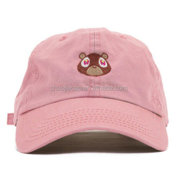 Hot Sale Dad Hat Cap With Cute Flat Embroidery - Buy Dad Cap 831448e1f47