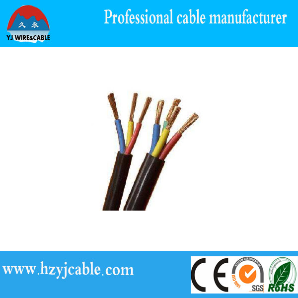 Dubai import Free sample BS6500 Standard Multi Cores Flexible Copper/CCA PVC sheath electric cable rates
